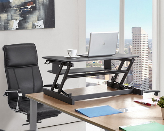 Sit Stand Computer Desk Height Adjustable
