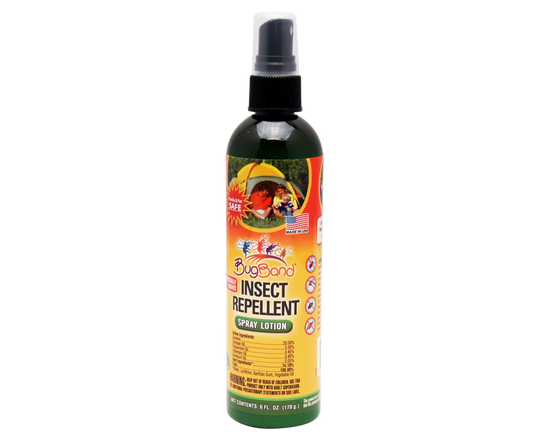 170g Bugband Insect Repellent Spray Lotion