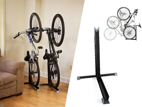 Bike Nook Bicycle Stand The Easy To Use Upright Design Lets You Store Your Bike