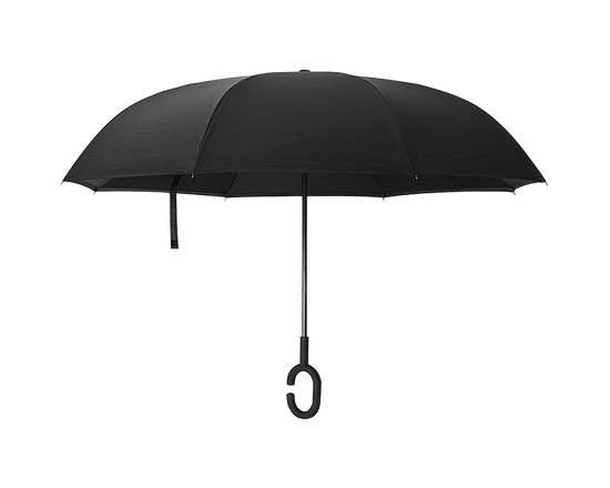 Double Layer Reverse Umbrella BLACK
