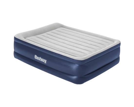 Bestway Air Bed Queen Tritech Built-in AC Pump