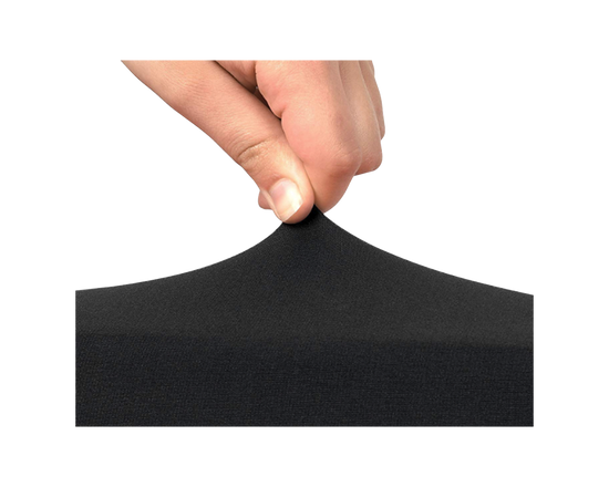 Spandex Dining Chair Cover BLACK 1pc