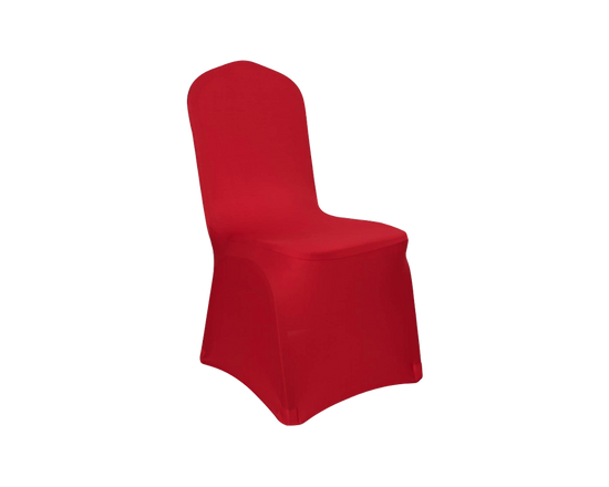 Spandex Dining Chair Cover RED 1pc