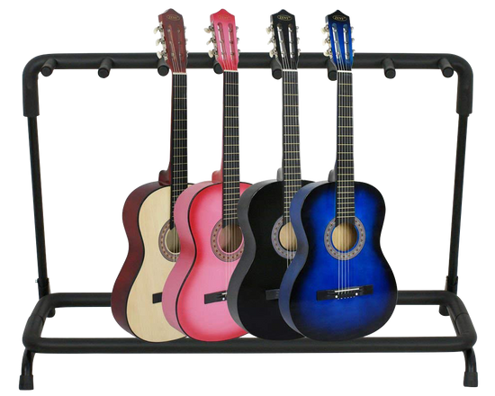 7 Guitars Stand Rack