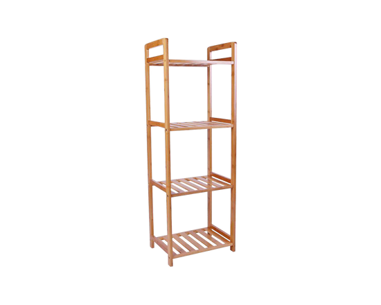 4 Tier Bamboo Bathroom Shelf