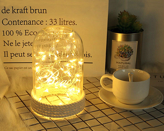 Seed Fairy LightsLED Yellow 2M 2 Sets