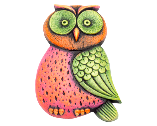 Small Owl  Garden Plaque