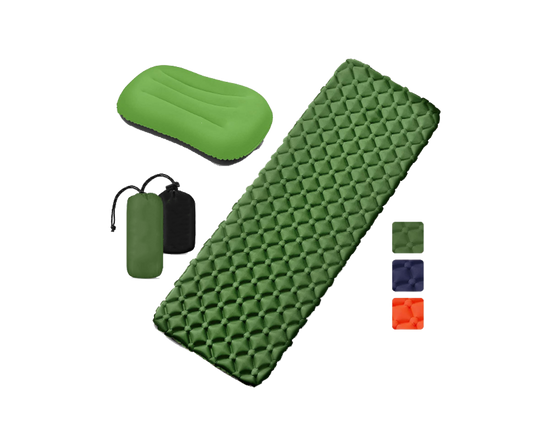 Camping Air Mattress TPU Green
