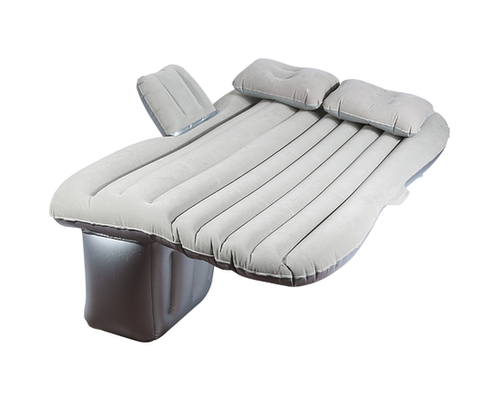 Inflatable Car Mattress Air Bed Grey