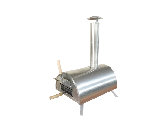 Portable Wood Fired  Outdoor Pizza Oven Stainless Steel