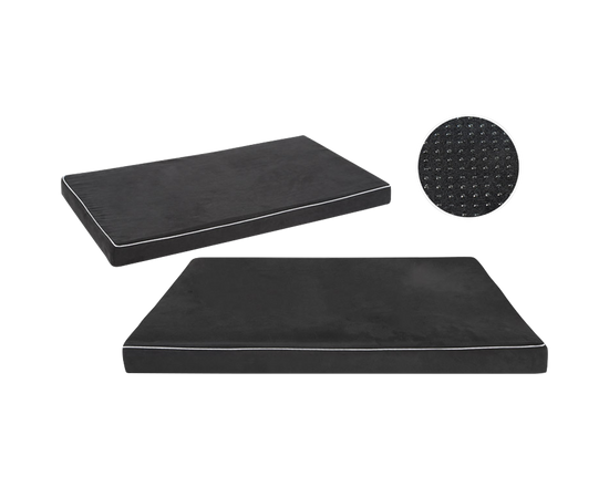 Memory Foam Pet Mattress Bed  Black XL