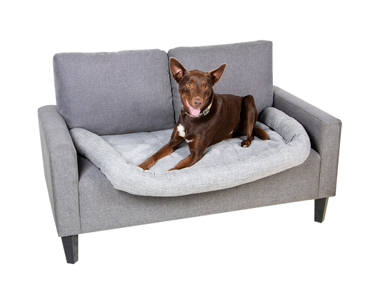 Pet Bed Sofa Cover Grey