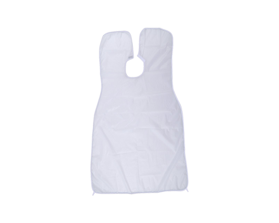 Shaving Bib Beard Catcher Apron White 2pcs