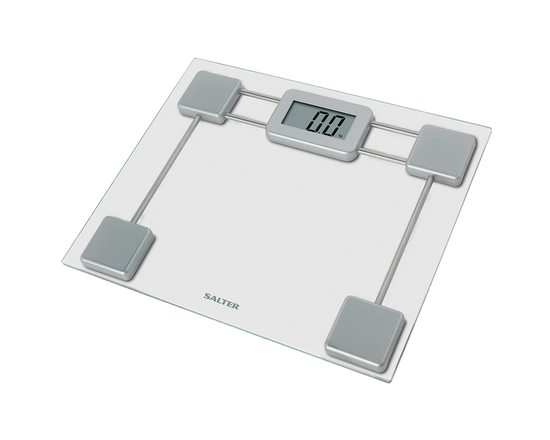 Salter Glass Electronic Personal Bathroom Scale 9081