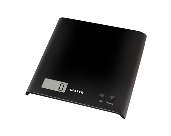Salter Arc Electronic Kitchen Scale Black