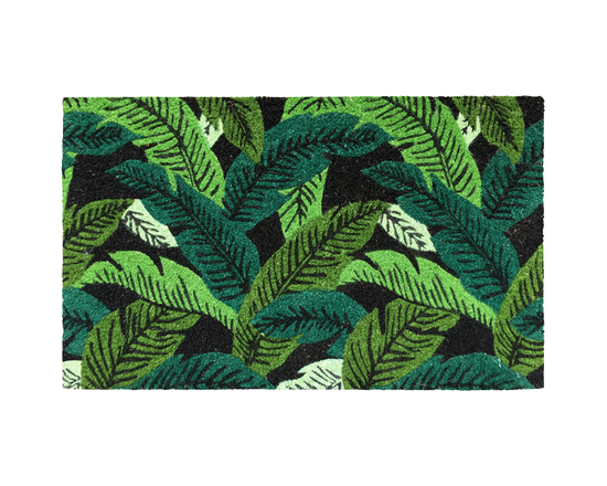 General Eclectic Doormat Banana Leaf