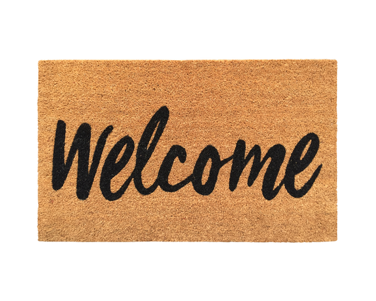 General Eclectic Doormat Welcome