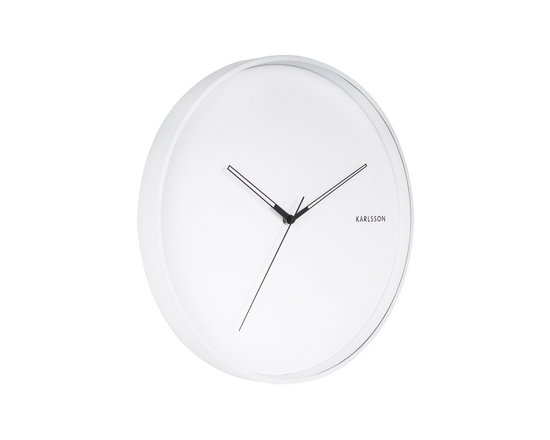 Karlsson Hue Wall Clock White