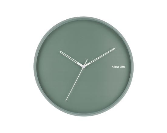 Karlsson Hue Wall Clock Green