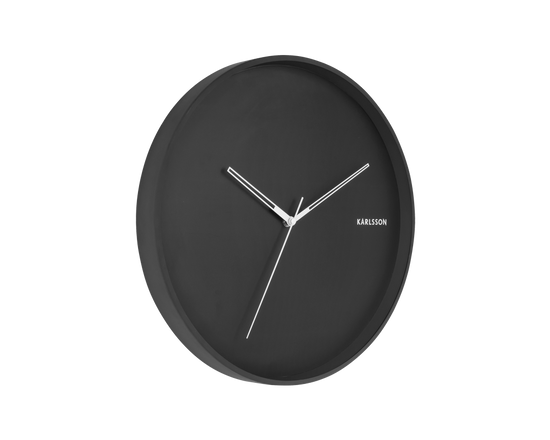 Karlsson Hue Wall Clock Black