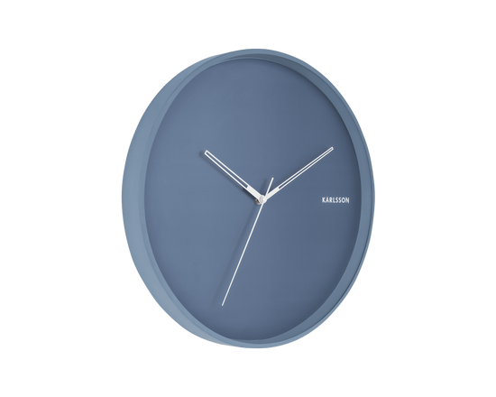 Karlsson Hue Wall Clock Blue