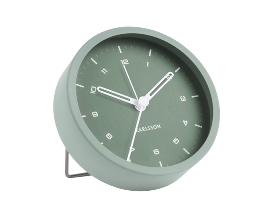 Karlsson Tinge Alarm Clock Green