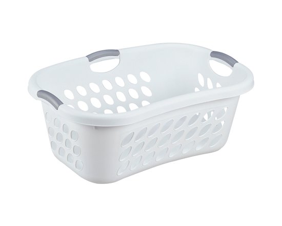 Sterilite Hiphold Laundry Basket 44L White