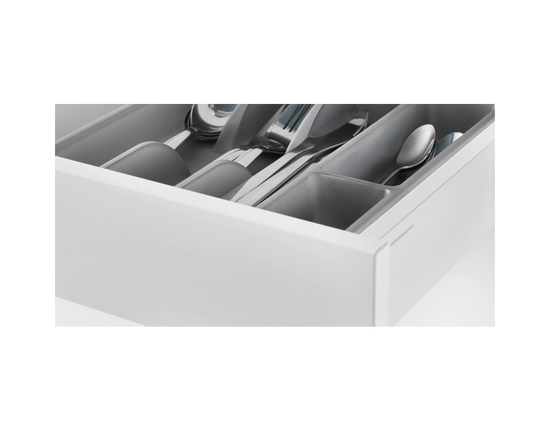 IKEA SMACKER Cutlery Holder Tray Grey