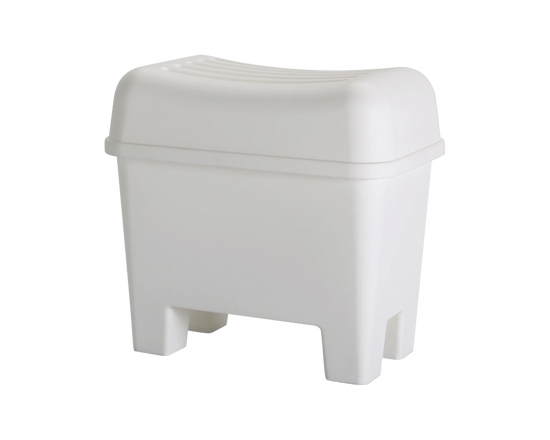 IKEA BURSJON Storage Stool White