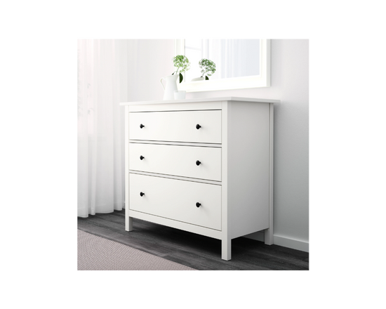 IKEA HEMNES Chest of 3 Drawers White