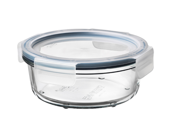 IKEA 365+ Food Container With Lid Round Glass 400ml