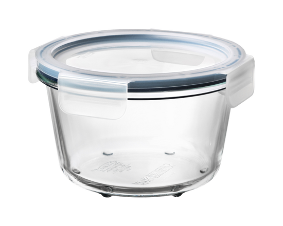 IKEA 365+ Food Container With Lid Round Glass 600ml
