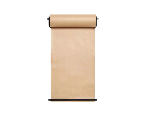 100M  Brown Paper Roll Holder Black