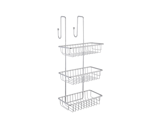 Over Door Shower Caddy Chrome