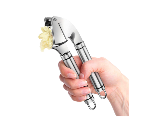 Stainless Steel Garlic Press Multi-Function