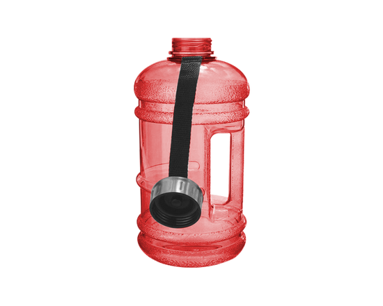 Gym Water Bottle 2.2L Red