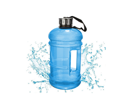 Gym Water Bottle 2.2L Blue