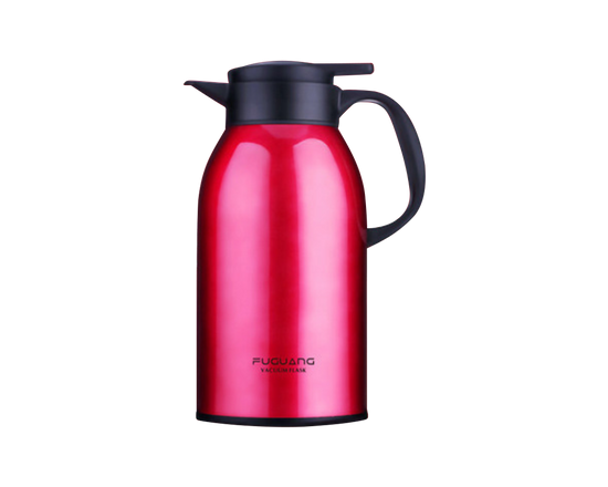 Stainless Steel Flask Travel Thermos 2000ml Red