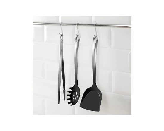 IKEA DIREKT 3-piece Kitchen Utensil Set Black