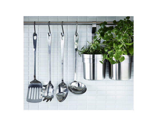 IKEA GRUNKA 4-piece Kitchen Utensil Set Stainless Steel