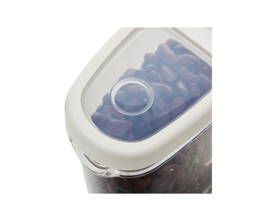 IKEA 365+ Dry Food Jar With Lid Transparent White