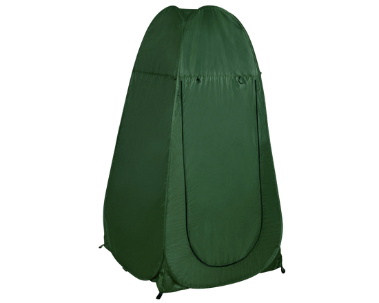 Camping Pop Up Shower Tent  Green