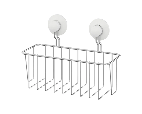 IKEA IMMELN Shower Basket Zinc Plated