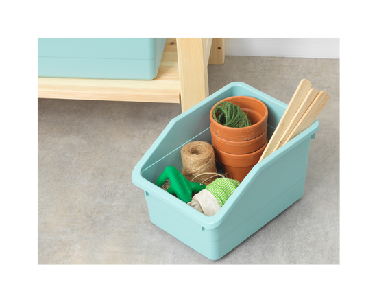 IKEA SOCKERBIT Storage Box Light Blue  (Buy 1 Get 1 Free)