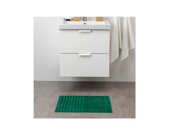 IKEA VINNFAR Bath Mat Dark Green
