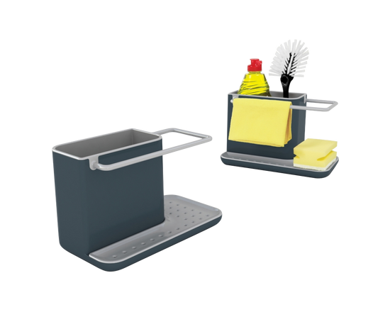 Joseph Joseph Caddy Sink Tidy Grey