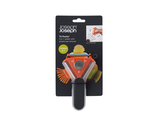 Joseph Joseph Tri-Peeler 3-in-1 Vegetable Peeler
