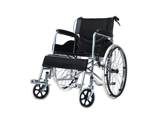 """Wheelchair Self-Propelled 24"""" Foldable"""