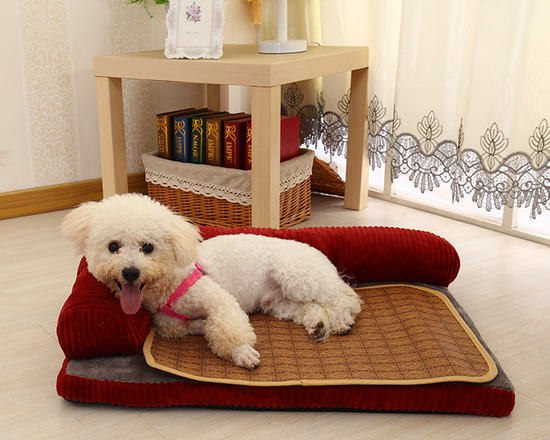 Memory Foam Dog Bed L