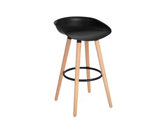 BarStools  Black Set Of 2